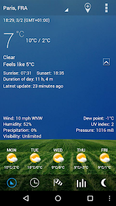 Digital clock & world weather v1.07.05 (Ad Free)