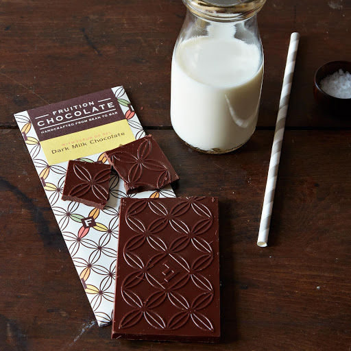 Dark Milk with Fleur de Sel, 3 Bars
