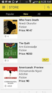 Read African Books: Okadabooks - screenshot thumbnail