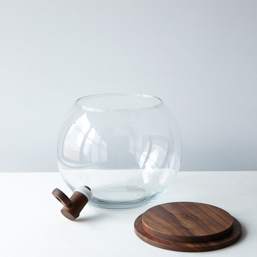 Handblown Glass Drink Dispenser