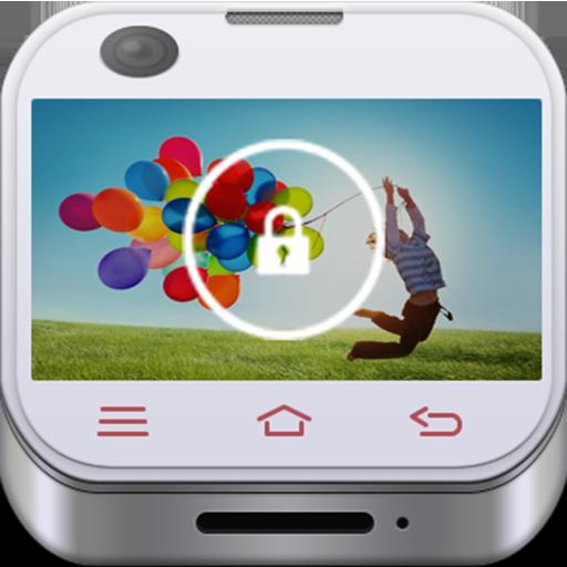 Galaxy Phone Lock LOGO-APP點子
