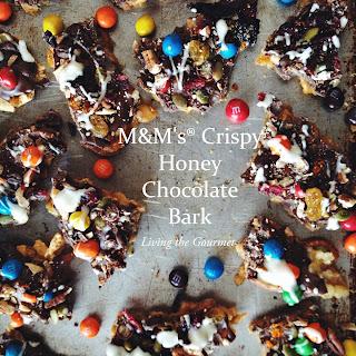 M&M's® Crispy Honey Chocolate Bark