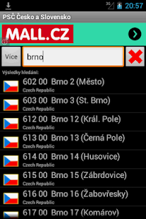 ZIP code Czech and Slovak - screenshot thumbnail