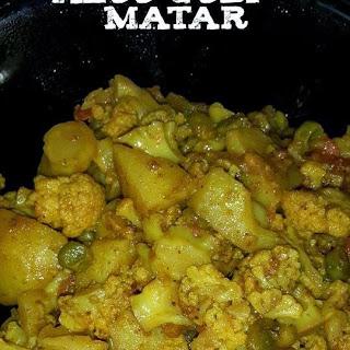 Punjabi style Aloo Gobi Matar