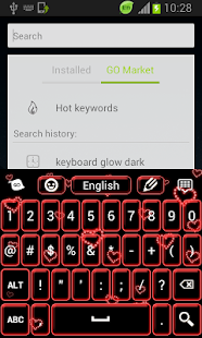 Neon Hearts Keyboard - screenshot thumbnail