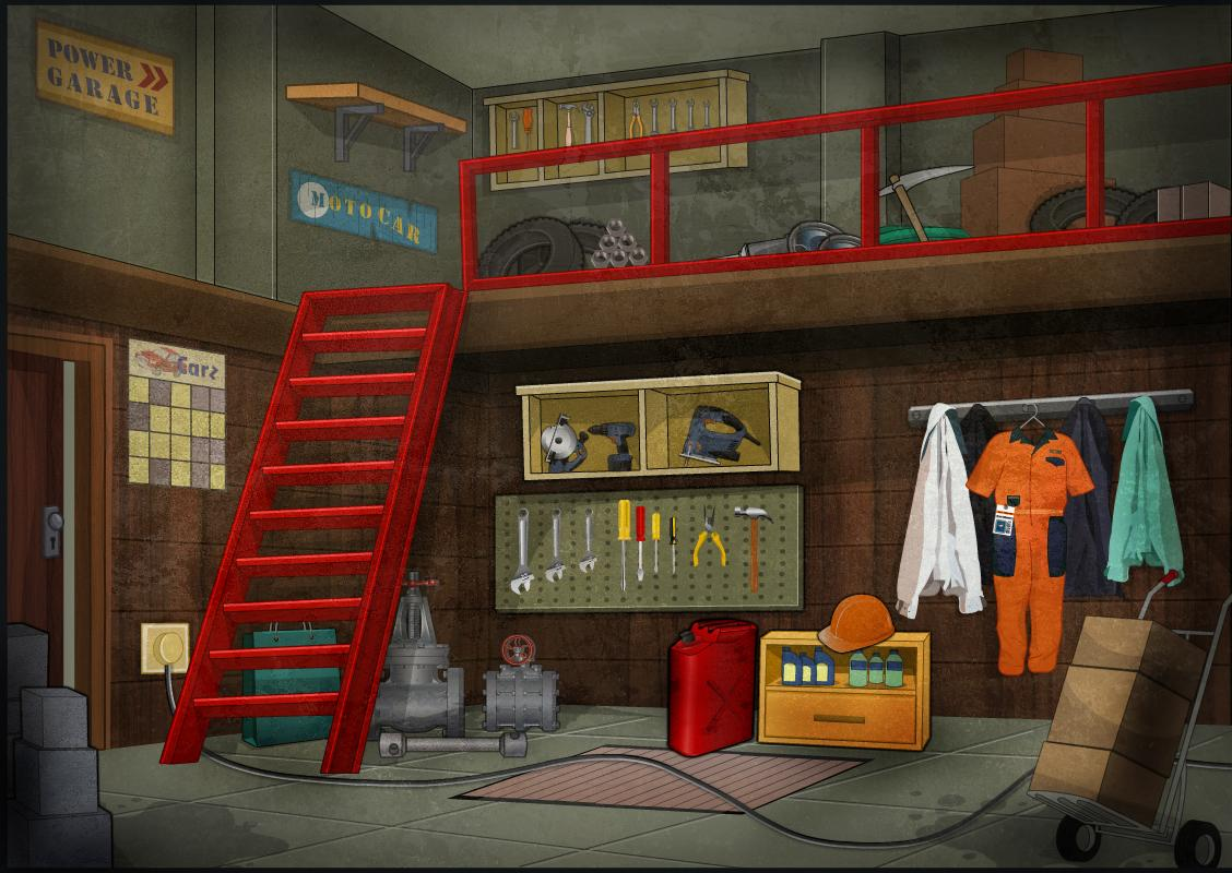 Escape games garage escape android apps on google play for Garage auto store marseille