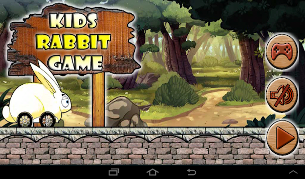Kids Rabbit Run apk screenshot