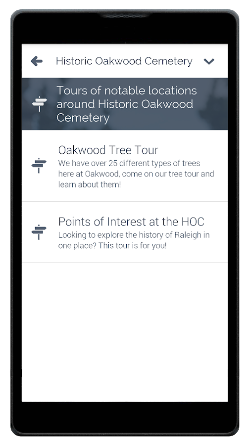 Historic Oakwood Cemetery- screenshot