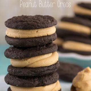 Soft Homemade Peanut Butter Oreos