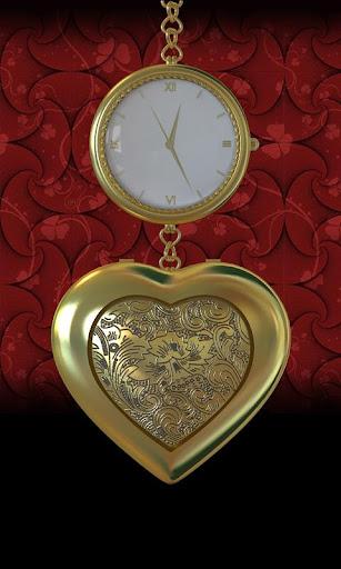 3D Love Romantic Medallion LWP