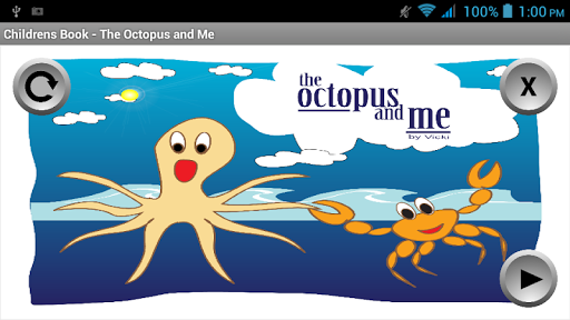 Childrens Book - Octopus Me