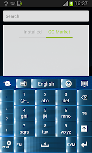 Blue Type Keypad - screenshot thumbnail