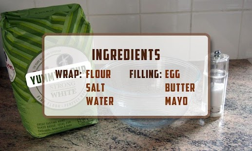 Delicious Egg Wrap Recipe- screenshot thumbnail