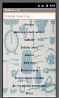 Screenshot of Tablica kalorija