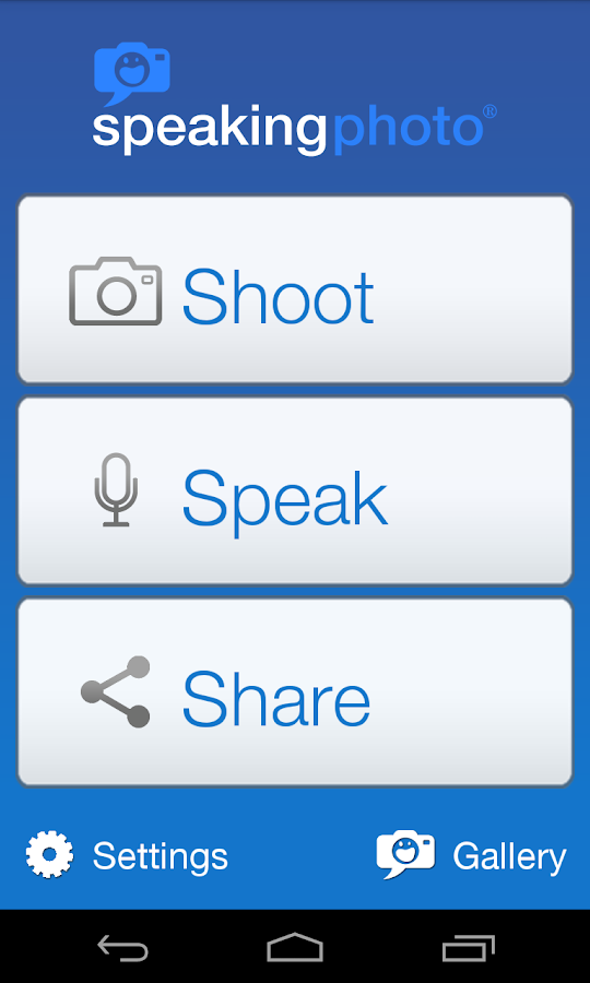SpeakingPhoto - screenshot