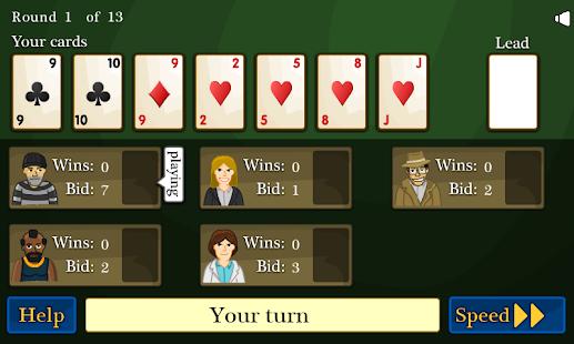 玩免費紙牌APP 下載Contract Whist Card Game app不用錢 硬是要APP