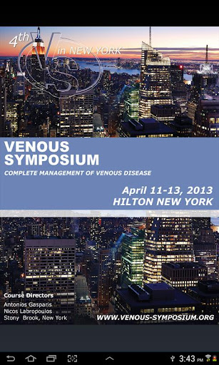 Venous Symposium 2013