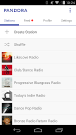 Pandora® Radio Screenshot 2