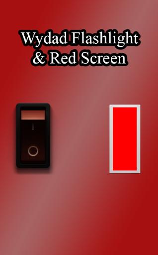 Wydad Flashlight Red Screen