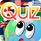 Quiz on Earth -National Flags- icon
