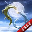 昇龍神【月の光】Free icon