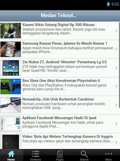 【免費新聞App】Medan Teknologi-APP點子