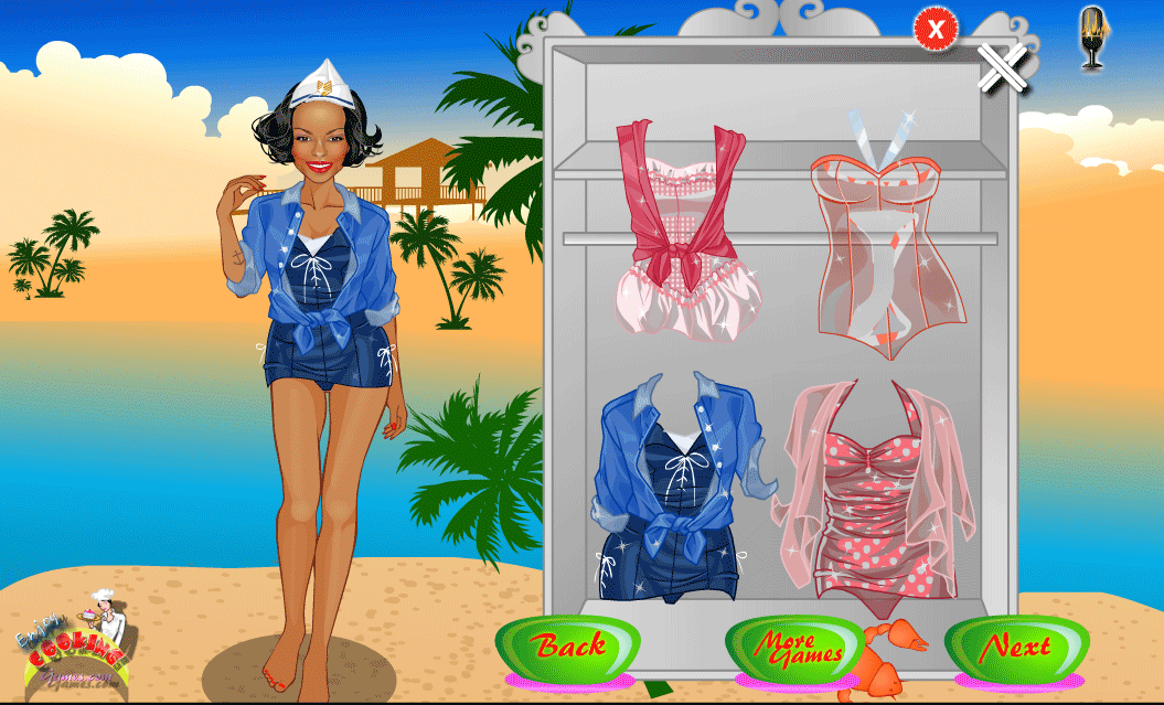 Beach Girl Dress up - screenshot
