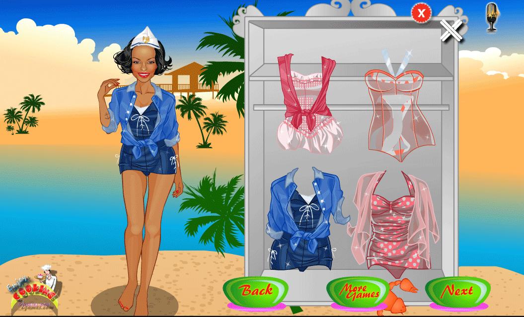 beach games for girls- screenshot
