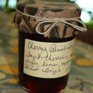 Sweet Cherry Pinot Grigio Jam.