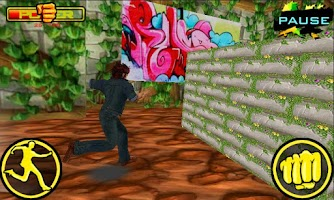 Screenshot of Crazy Fist