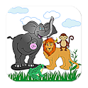 Animal Names & Sounds Kids Zoo icon