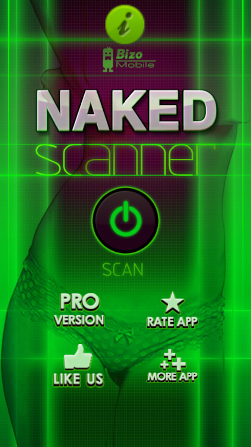 Naked Scanner Free Prank - screenshot