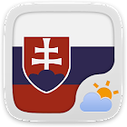 Slovakia GO Weather EX icon