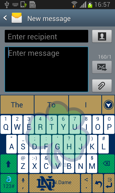 Notre Dame Keyboard - screenshot
