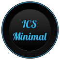 ICS Minimal Apex Nova ADW Holo icon