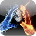 3D Ice Fire Love LiveWallpaper icon