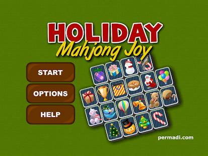Mahjong Holiday Joy