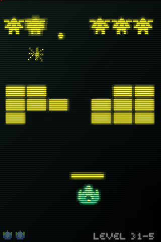 Voxel Invaders- screenshot