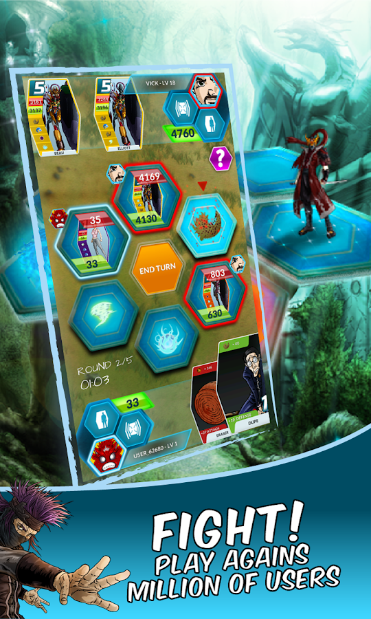 Dengen Chronicles TCG- screenshot