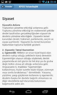 KPSS Ders Notları - screenshot thumbnail