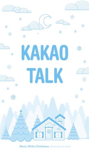 카카오톡 테마 - 메리 화이트 크리스마스