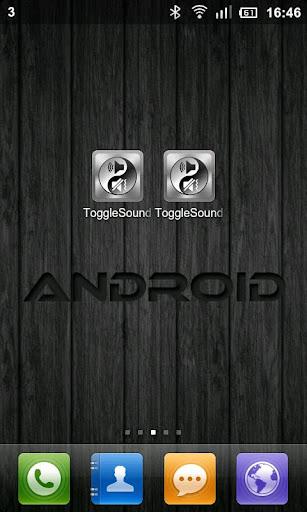 Toggle Sound And Lock