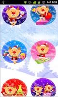 Screenshot of Christmas Sticker Widget Seven