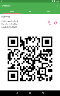 GreenBits Bitcoin Wallet- screenshot thumbnail