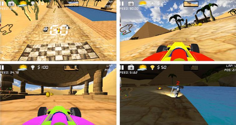 Kart Racing 3D Rider Car Racer - screenshot