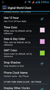 玩旅遊App|Digital World Clock Widget免費|APP試玩