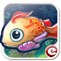 Dream fish aquarium icon