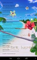 Screenshot of Beach Live Wallpaper