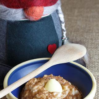 Risengrød - Danish Rice Porridge.