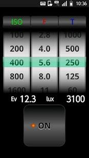 SmartLightMeter- screenshot thumbnail
